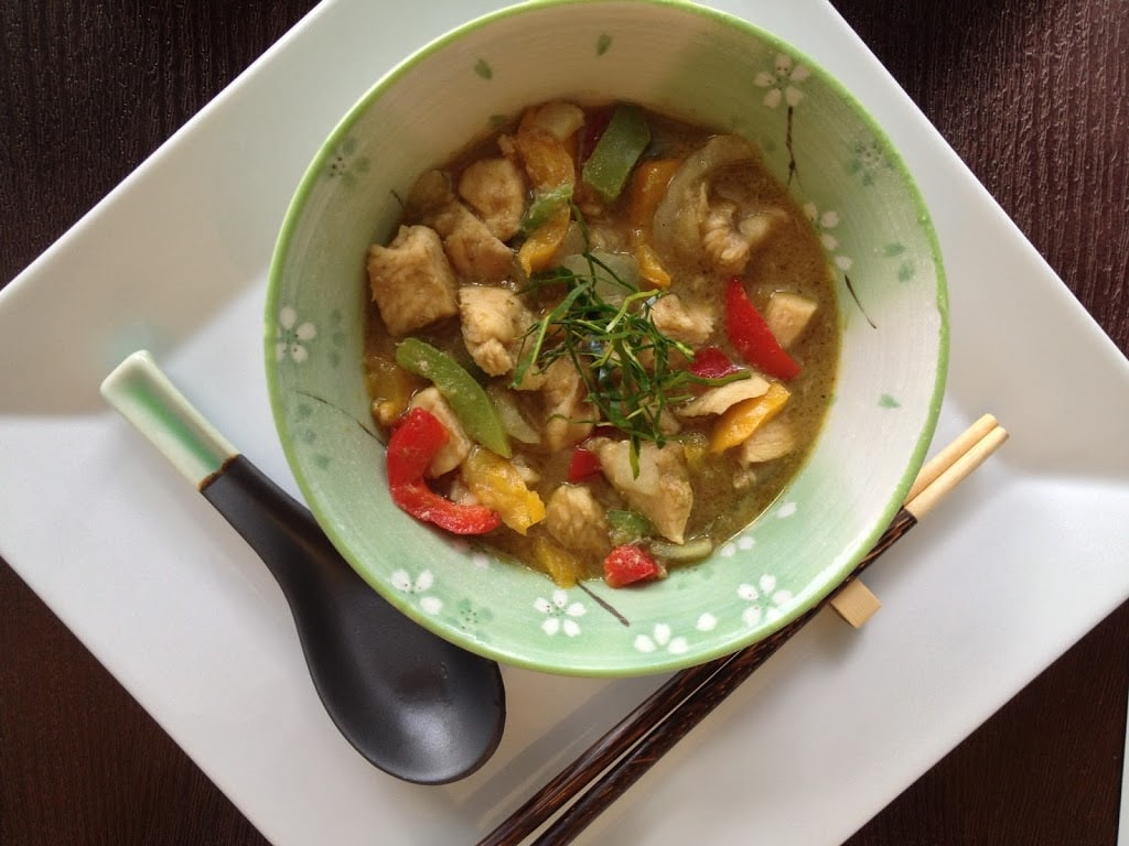 Easy Green Curry Chicken
