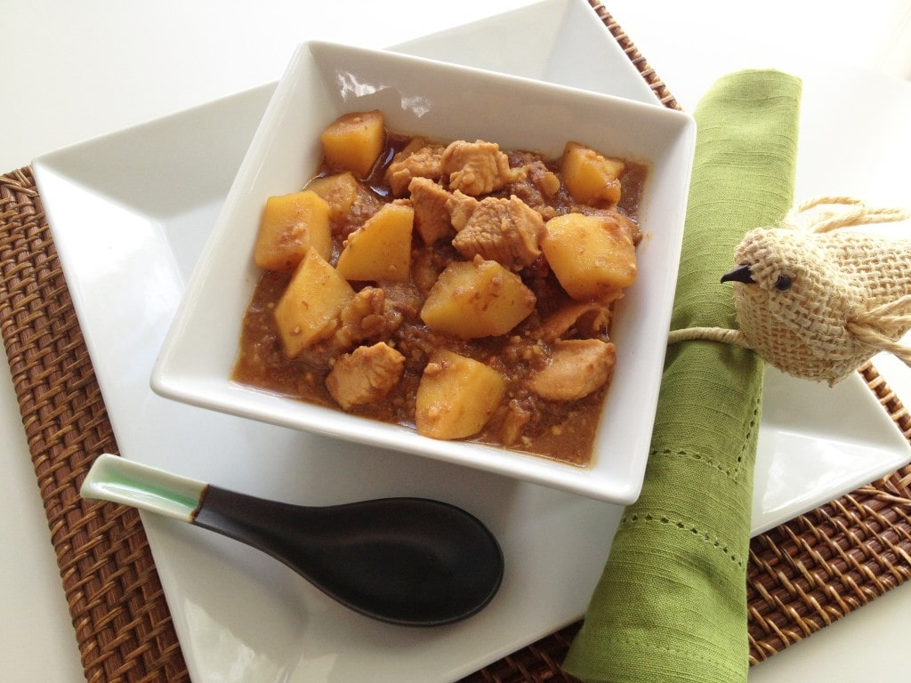 Nyonya Chicken Stew (Pongteh)