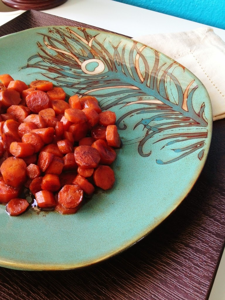 Glazed Carrots with Five Spice