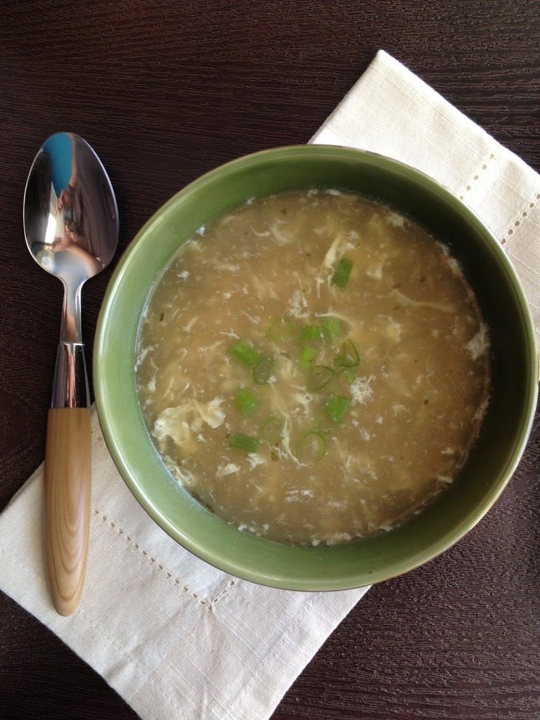 Basic Egg Drop Soup