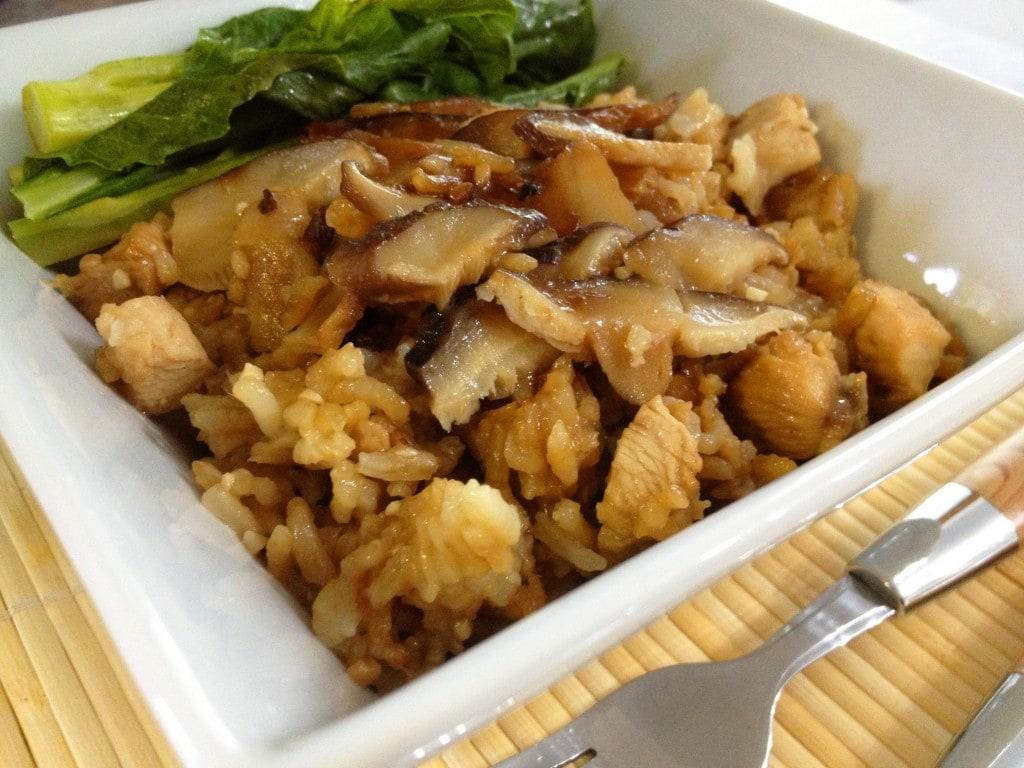 Claypot Chicken Rice (Sans Claypot)