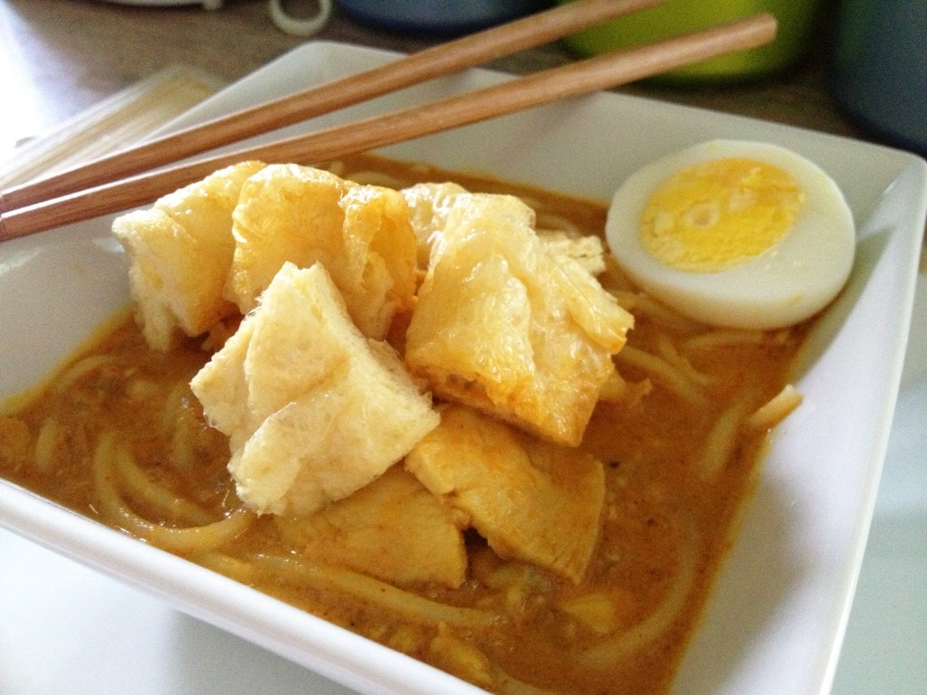 Coconut Curry Noodles (Curry Laksa)