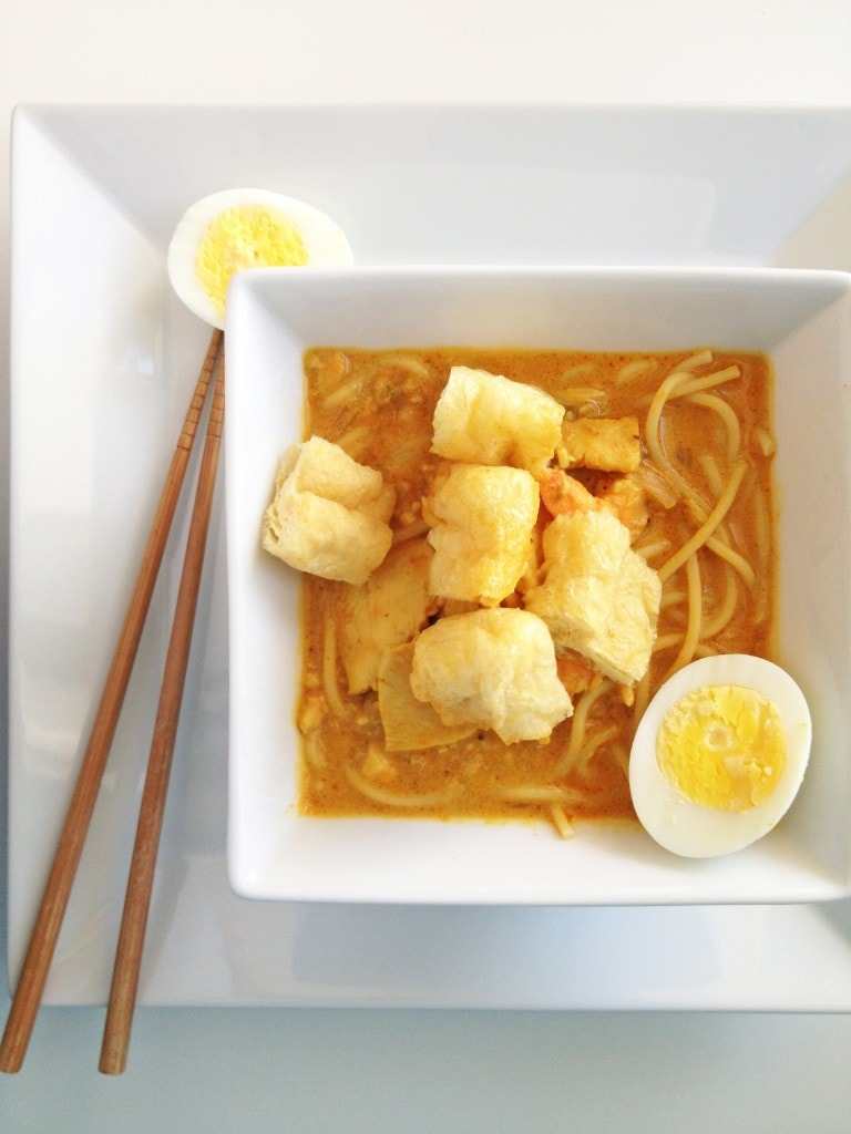 Coconut Curry Noodles (Curry Laksa)