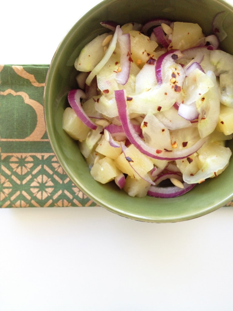 Cucumber Pickled Salad (Acar Timun)