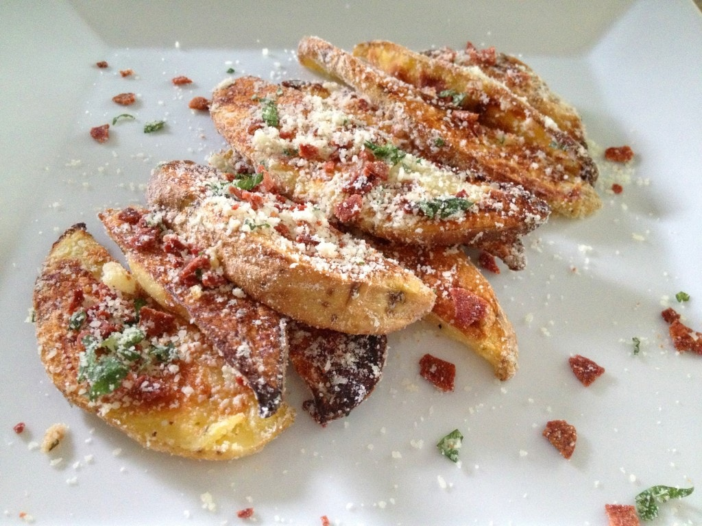 Garlic Parmesan Wedges
