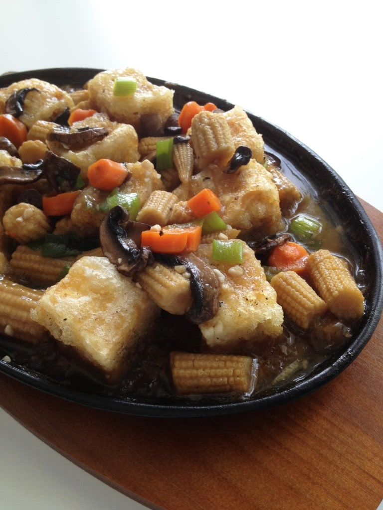 Hot Plate Tofu