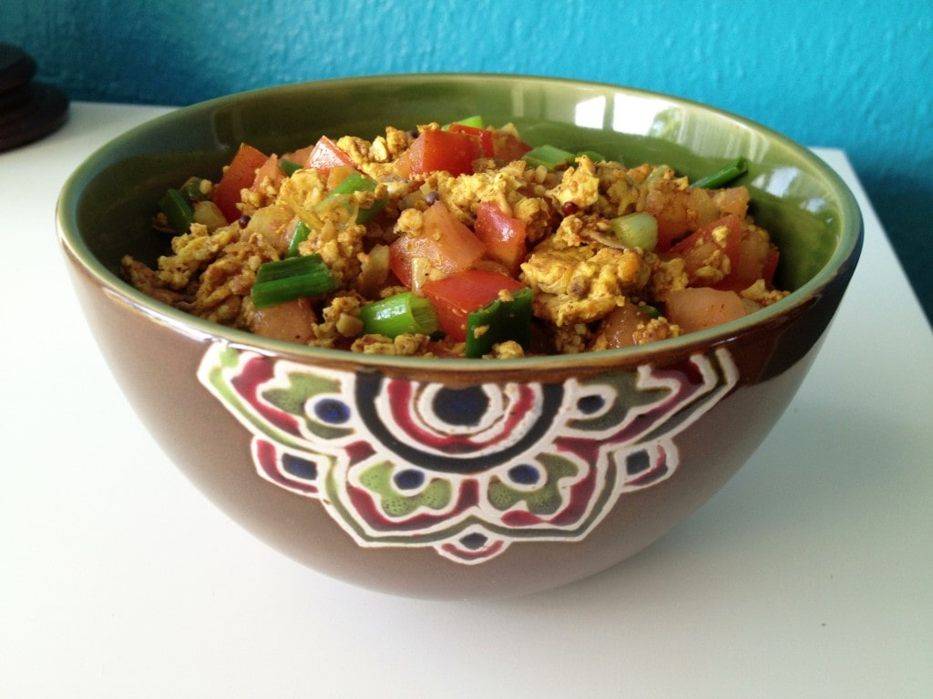 Indian-Style Scrambled Eggs (Anda Bhurji)