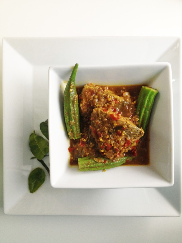 Sour and Spicy Fish Stew (Ikan Assam Pedas)