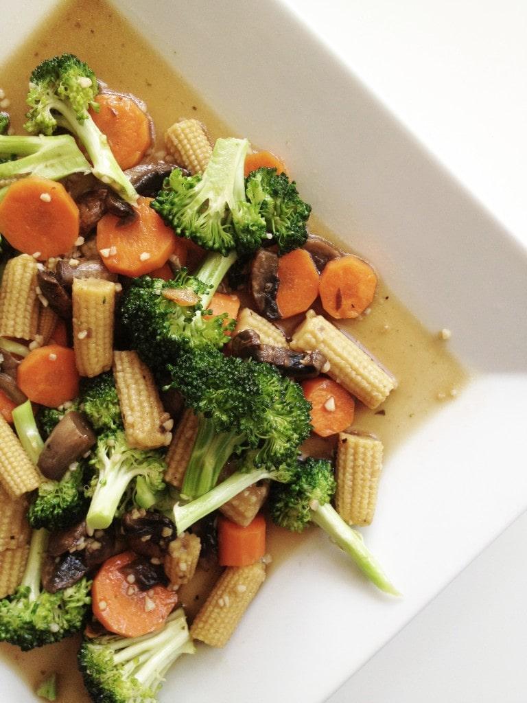 Stir-Fry Mixed Vegetables