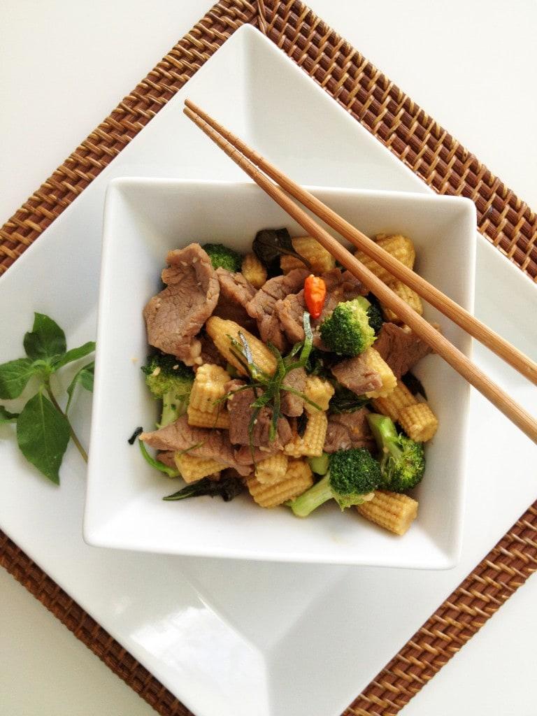 Thai Basil Beef Stir-Fry