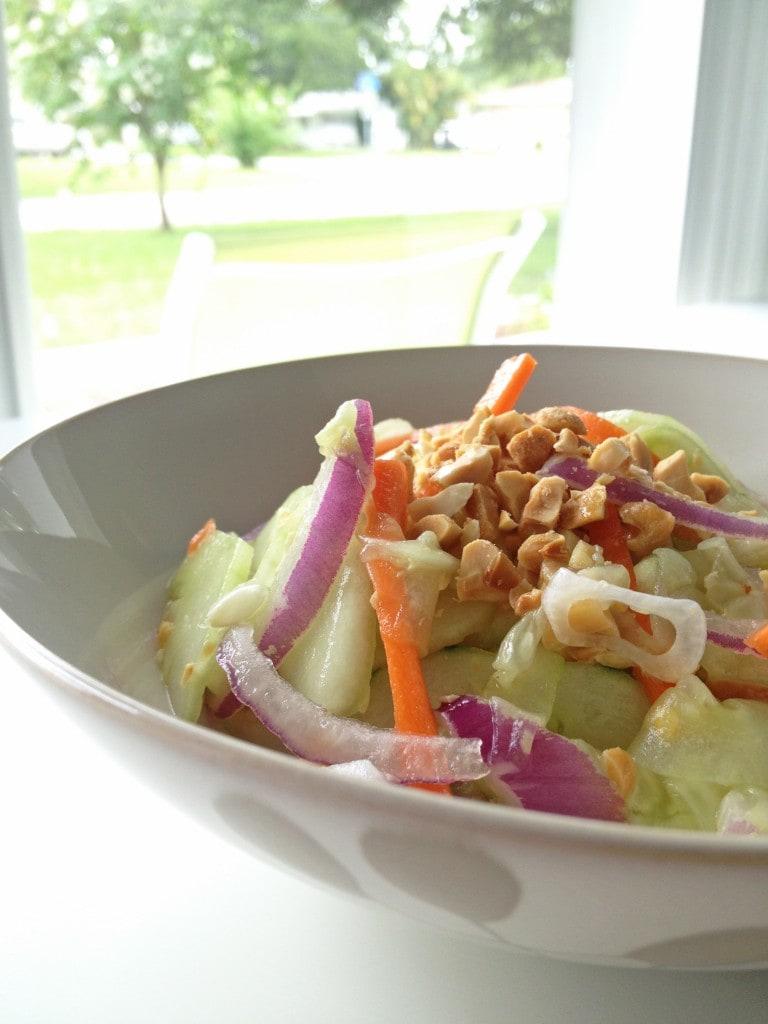 Chilled Thai Cucumber Salad