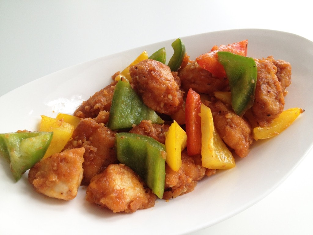 how to make crispy chicken for sweet and sour