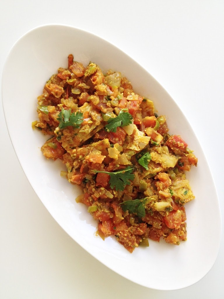 Omelette Curry