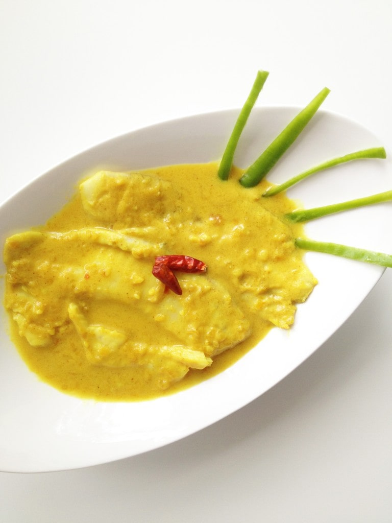 Fish in Coconut Gravy (Ikan Masak Lemak)