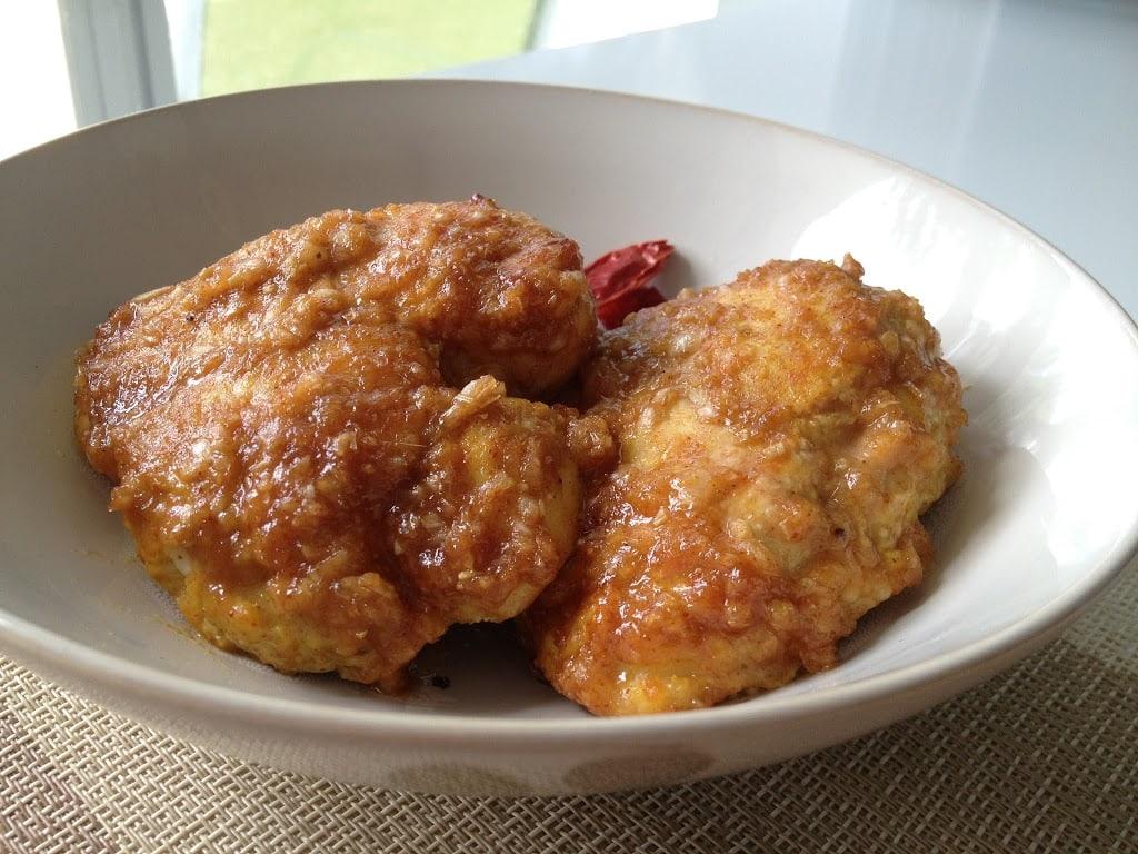 Spiced Coconut Chicken (Ayam Percik)