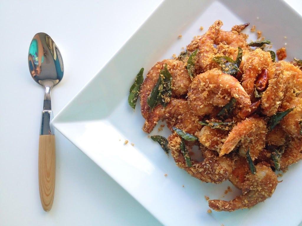 Spicy Coconut Prawns (Butter Prawns)