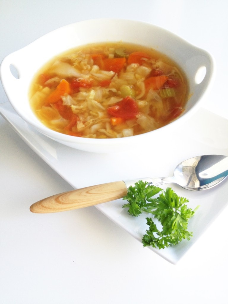 Asian Inspired Cabbage Soup