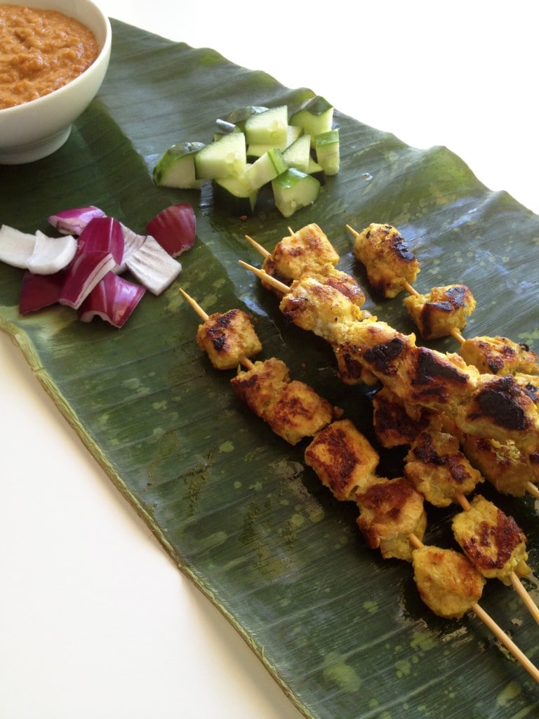 Authentic Chicken Satay