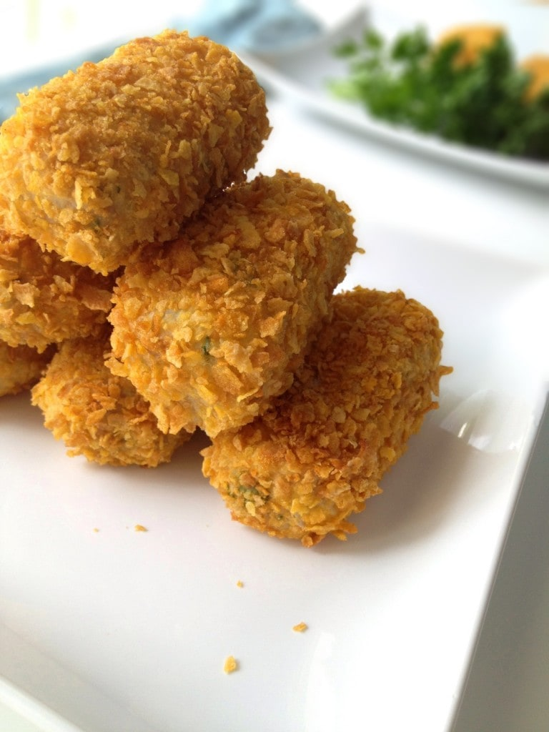 Oven Baked Tuna and Cheese Croquettes