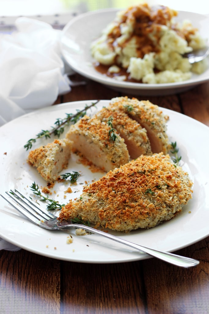Recipe Herbed Panko Chicken
