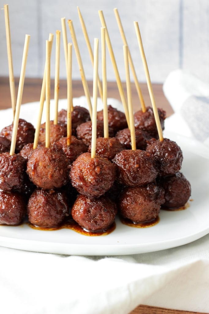 A spicy and sweet glaze make these sweet heat meatballs great for parties. Meatballs on a stick for meatball lovers!