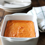 Carrot souffle makes a great side dish for any Thanksgiving or Christmas dinner. Enjoy some sweetened fluffy magic this holiday!