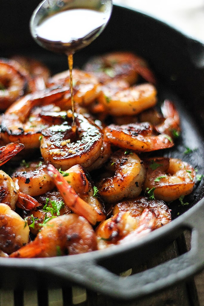 Honey Garlic Shrimp Skillet The Cooking Jar