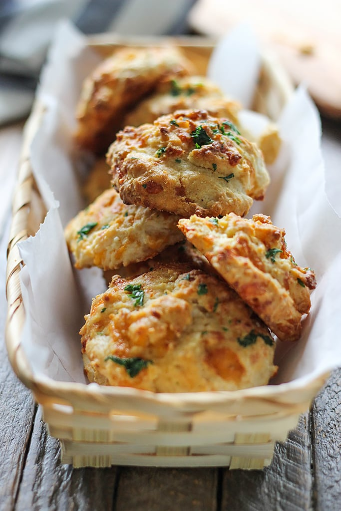 Enjoy some Red Lobster cheddar bay biscuits at home. With a few simple ingredients and ready in under 30 minutes.