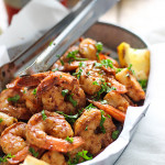 Want a fiery and hot 15 minute shrimp recipe? This spicy New Orleans-style shrimp does the trick!
