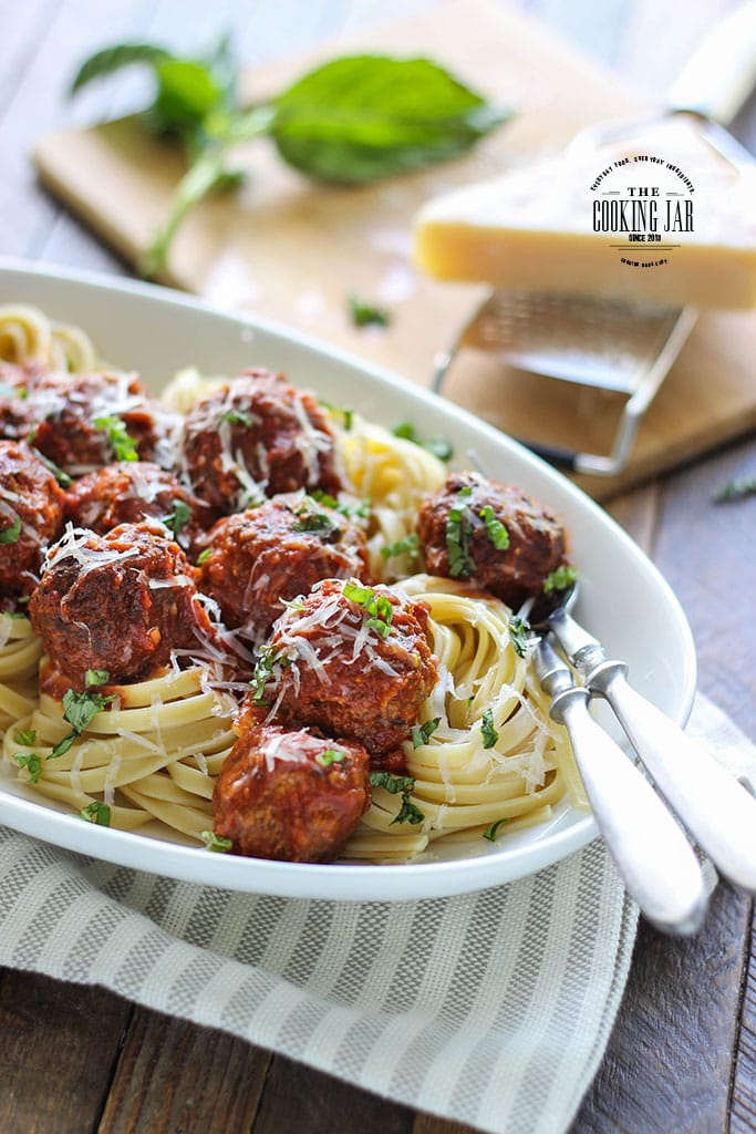 These slow cooker Italian meatballs are a great answer for quick weeknight dinners. Freeze leftovers for another day!