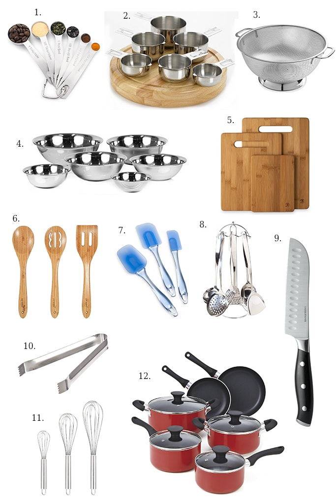 A List Of Basic Kitchen Essentials For Every To Get You Started