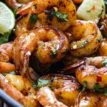 Cilantro lime honey garlic shrimp skillet is smoky, sweet, zesty and savory. In short, this 30 minute meal is quick and easy without skimping on the flavor.