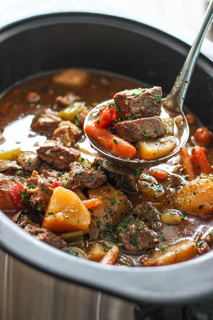 Slow Cooker Beef Stew The Cooking Jar